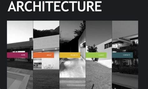 flash templates for architecture companies architecture