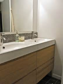 Towel Rack Ideas For Bathroom Two People Two Sinks Brick And Brack