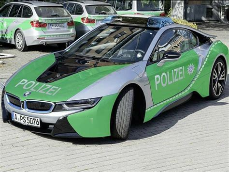 Auto Folierung Polizei by Bmw I8 Neues Polizeiauto In Augsburg Autozeitung De