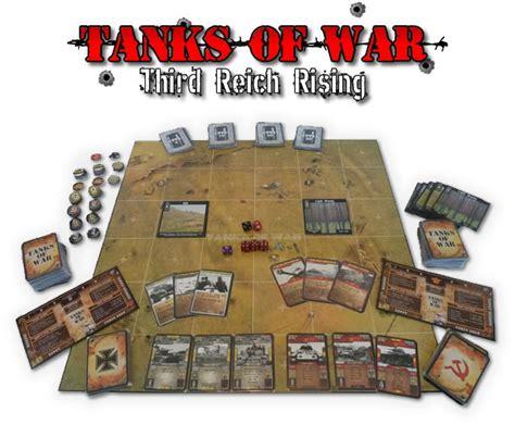 printable war board games tanks of war third reich rising now live on kickstarter