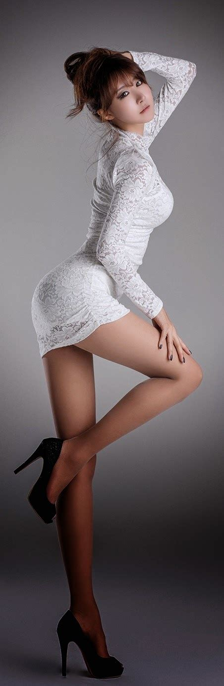 asian tight mini dress asian woman with long sleeve lace tight mini dress and