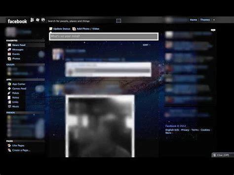 facebook themes download 2013 modificar el dise 241 o de facebook 2013 facebook themes