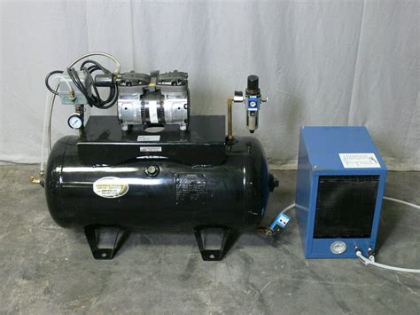 proluxe dpcd120 compressor for air driven press w refrigerated air dryer ebay
