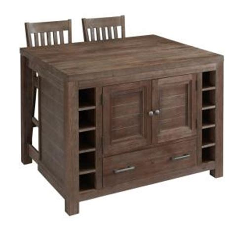 home depot kitchen island home styles 48 in w barside kitchen island with seating