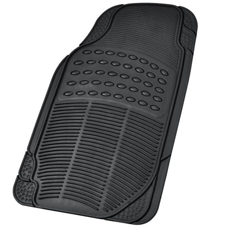 Heavy Duty Rubber Car Floor Mats by 4pc Heavy Duty Rubber Floor Mats Tough All Season Car
