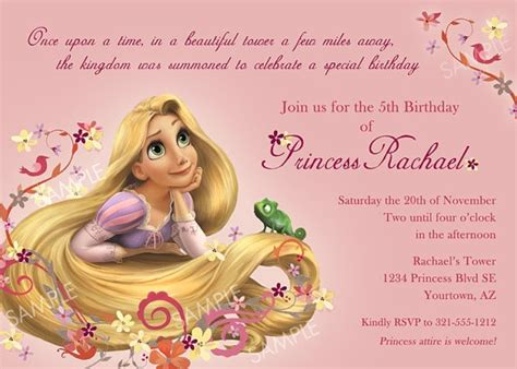 printable rapunzel invitations 1000 images about tangled invitations on pinterest