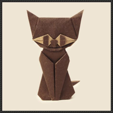 How To Fold An Origami Cat - papercraftsquare