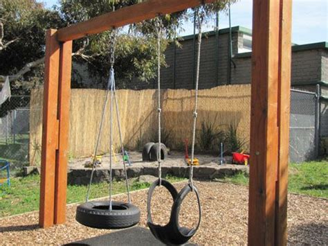 tire swing frame how to build a frame for tire swing woodworking projects