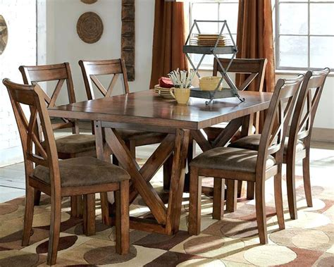 rustic dining room chairs rustic large dining table