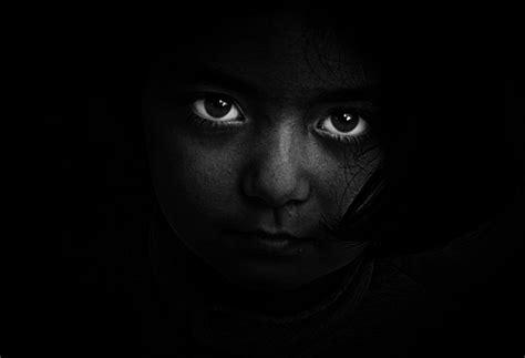 wallpaper black girl black and white person dark girl hd wallpaper