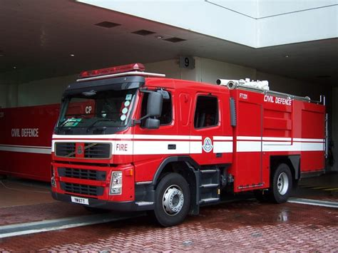 fire engines  singapore volvo fmfabristeel tampines fs