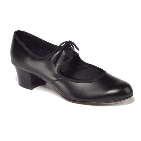tappers pointers black pu cuban heel adults tap shoes