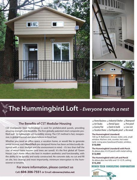 hummingbird tiny houses 100 sq ft hummingbird tiny house with loft tiny house