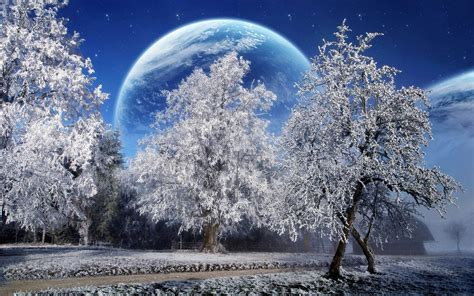 fondos de escritorio invierno winter wonderland wallpapers this wallpaper