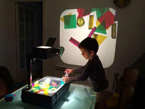 reggio emilia light table la cuca retroprojector retroproyector preschool light
