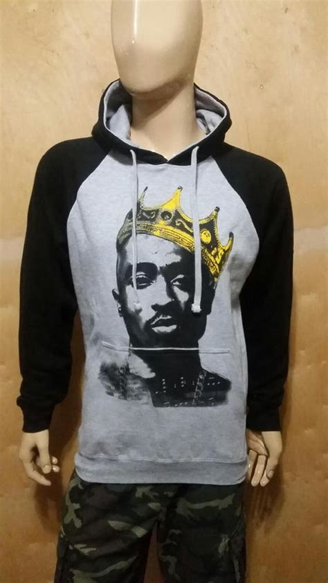 Hoodie Zipper Tupac Shakur 1 tupac shakur king rangla pullover hoodie 2pac west coast rappers nwa la hip hop ebay