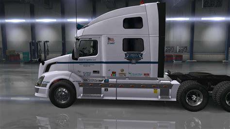 udl scs volvo vnl truck skin   ats american truck simulator mod ats mod