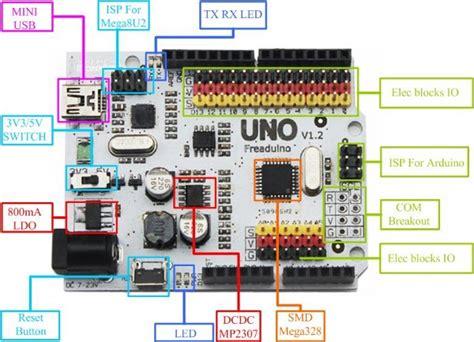 Dfrduino Uno R3 By Akhi Shop freaduino uno rev1 8 mikrokontroller arduino boards