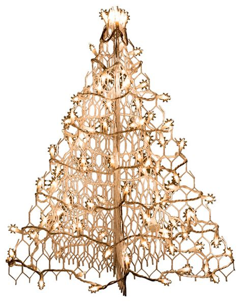 white replacement bulbs for crabpot christmas trees white wire crab pot tree with 100 clear mini lights contemporary outdoor decorations