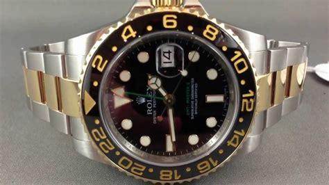 Rolex Gmt Master Ll Ceramic Two Tone rolex gmt master 2 ceramic ref 116713 two tone ceramic gmt