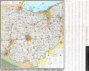 ohio to map pages 2007 2009 ohio transportation map archive