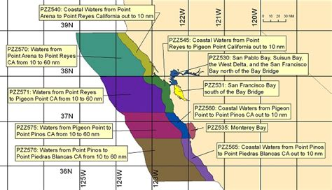 Part Time Mba Sf Bay Area by Coastal Great Lakes Forecasts By Zone West San
