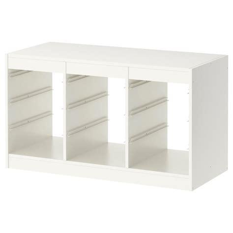 ikea toy storage trofast frame white