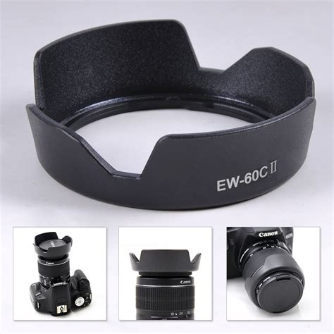 ew 60c ii flower lens for canon ef s 18 55mm f3 5 5 6