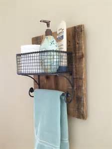 bath towel organizer rustic towel bathroom organizer rack on reclaimed