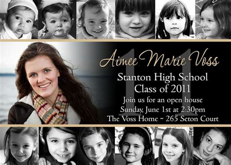 graduation collage print collage style graduation announcement invitation print