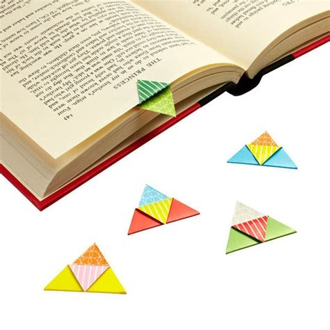 Origami Bookmarks - best 25 origami bookmark ideas on paper