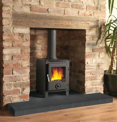 Fireplace With Wood Burner by Log Burner Fireplace On Log Burner Wood