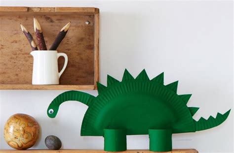 How To Make A 3d Dinosaur Out Of Paper - how to make a paper dinosaur goodtoknow