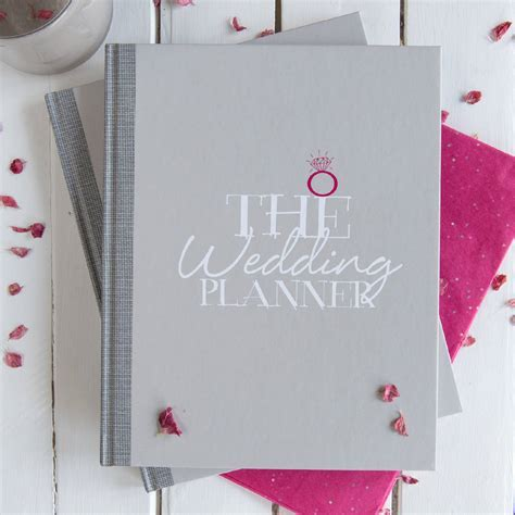 wedding planner, hen party book, guest book package by