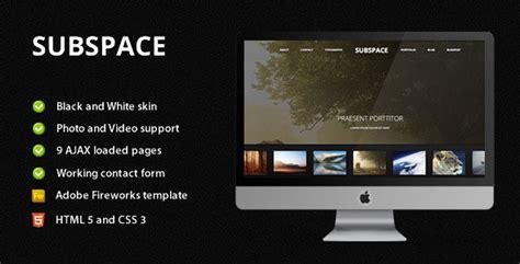 54 Beautiful Html5 Portfolio Website Templates Web Graphic Design Bashooka Html5 Portfolio Template Free