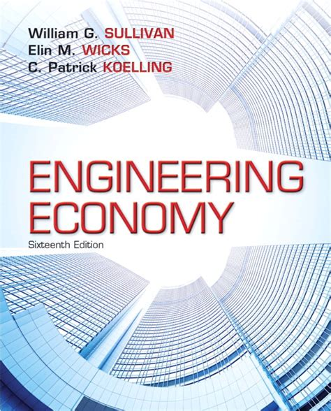 Economics Engineering 1 sullivan wicks koelling engineering economy pearson