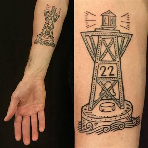 duke riley tattoo duke 22 is the buoy closest to bay ridge