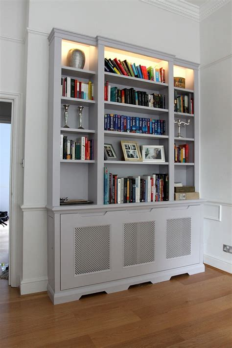 storage bookcase with tubs 15 best ideas of radiator covers with bookshelves