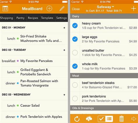 best free meal planner app 25 best ideas about best meal planning app on