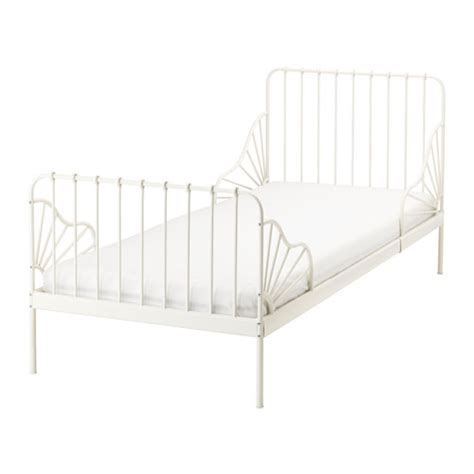 Minnen Ext Bed Frame With Slatted Bed Base Ikea Bed Frame With Slatted Bed Base