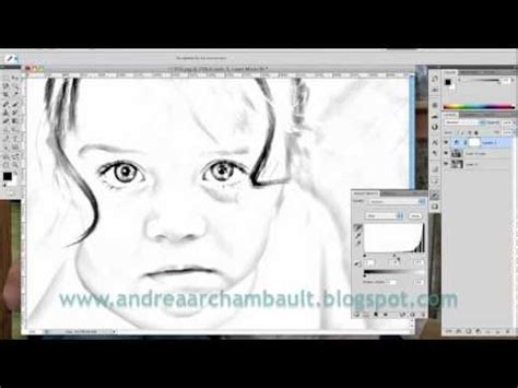 make a coloring book page with photoshop diy photo coloring book tutorial photoshop cs5 youtube