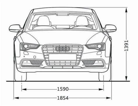 Audi A5 Sportback Technische Daten audi a5 sportback abmessungen technische daten l 228 nge
