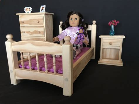 american girl bedroom set bedroom set for american girl and all other 18 dolls