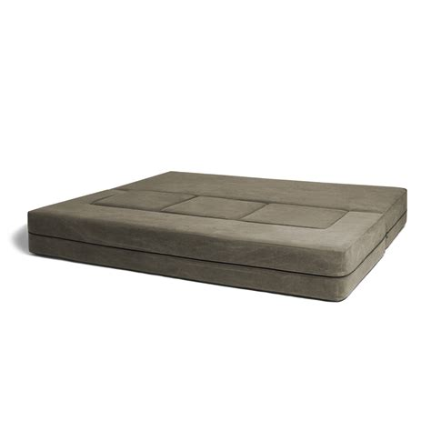 convertible sleeper ottoman convertible sleeper sofa 3 ottomans green jaxx