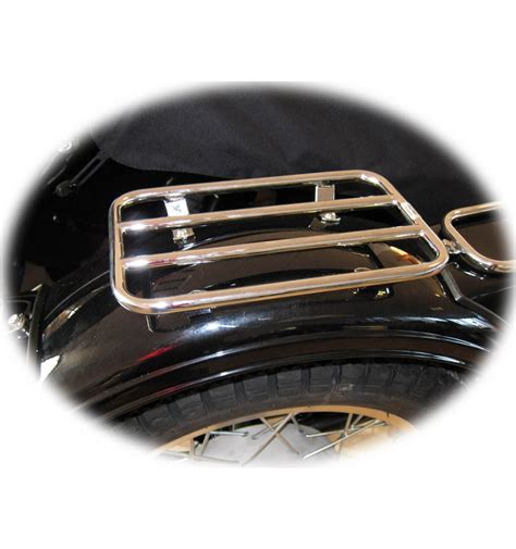 luggage rack for sidecar fender chrome