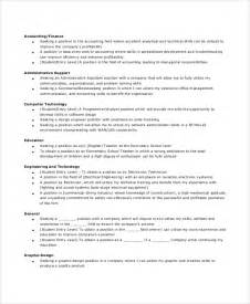 General Objective For Resume Exles by Sle General Resume Objective 5 Documents In Pdf