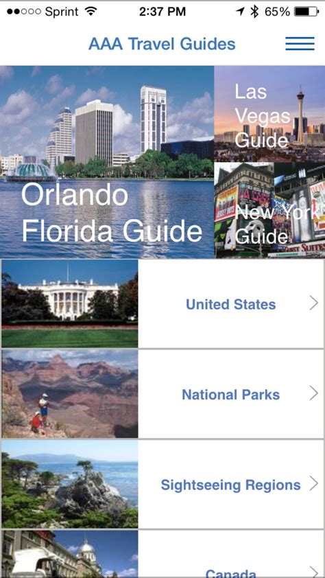 aaa travel how members can use the aaa mobile app to easily plan