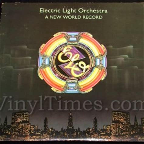 electric light orchestra quot a new world record quot vinyl lp