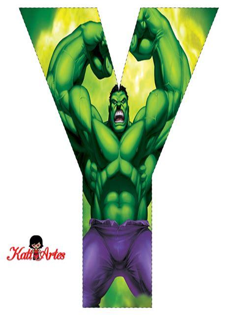 letras decoradas hulk hulk free alphabet alfabeto gratis de hulk hulk