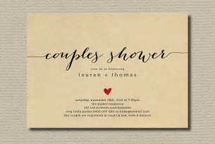 couples bridal shower invitations templates simple wedding shower invitation couples with